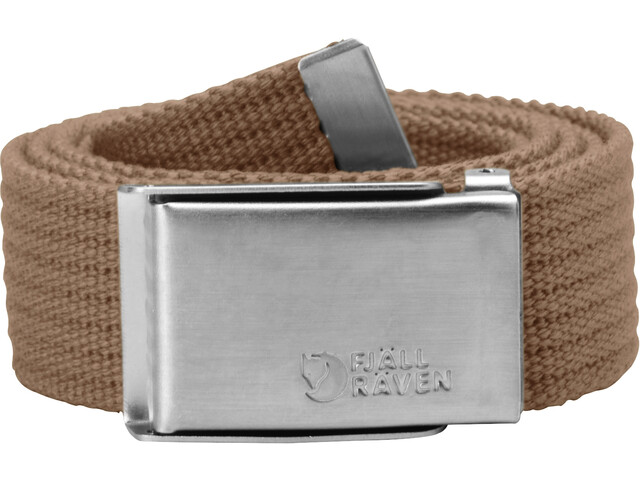 Fjällräven Merano Canvas Belt, dark sand
